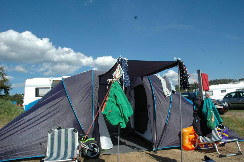 Tälta på Ugglarp Camping